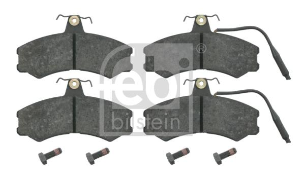 Brembo P23022 Front Disc Brake Pad Set of 4