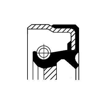 MERCEDES CORTECO SHAFT SEAL MANUAL TRANSMISSION SKODA 82034075 MITSUBISHI