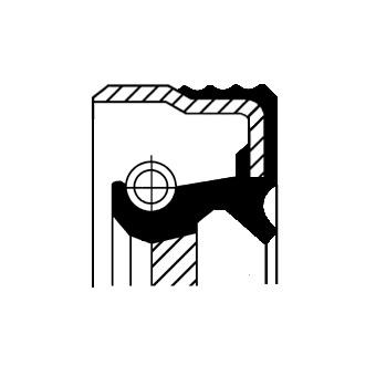 Corteco 12019250B Oil Seal Crankshaft