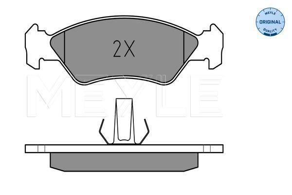 Genuine Comline Front Brake Disc Pads Set CBP0876