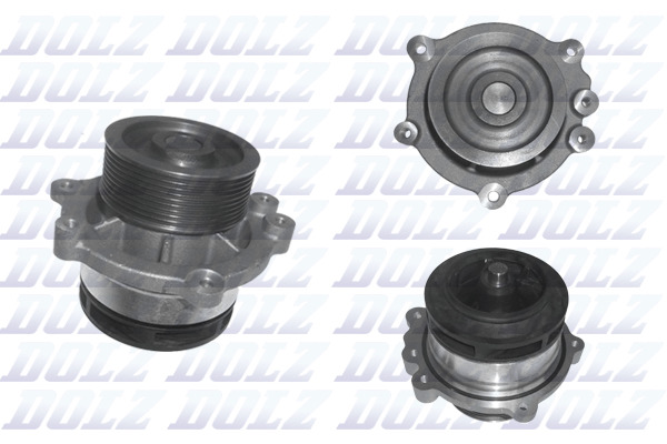 DOLZ D204 OE QUALITY WATER PUMP