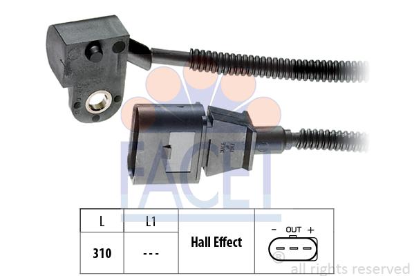 SWAG Sensor camshaft position 30 93 9894