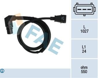 Crankshaft Pulse Sensor FEBI For OPEL VAUXHALL SAAB Ascona C Astra F 1238358