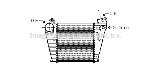 Bilde av Intercooler Ava Quality Cooling Aia4200