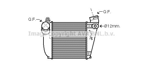 Bilde av Intercooler Ava Quality Cooling Aia4354
