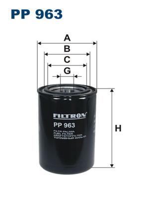 Mecafilter ELG5519 Fuel filter