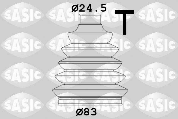 drive shaft 20 94 7961 SWAG Bellow Set