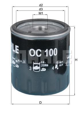 Fits Citroen C15 Genuine Bosch Screw On Oil Filter