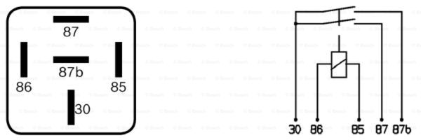Bosch 0 332 015 001 Relais