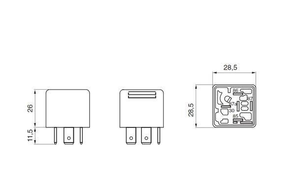 Bosch Relais 0332209152