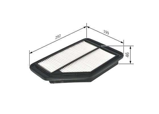 Luftfilter BOSCH F 026 400 159