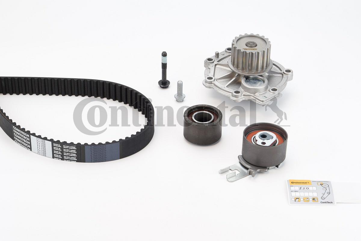 Gates KP15580XS Water Pump with Gear Belt Set