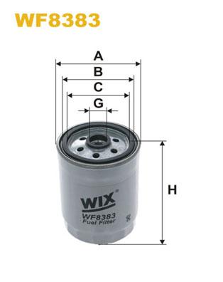 Wix Filter WF8049 Fuel Filter