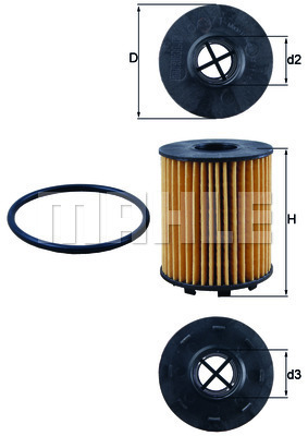Oil Filter FEBI For FIAT ALFA ROMEO OPEL ABARTH VAUXHALL LANCIA FORD 5650342