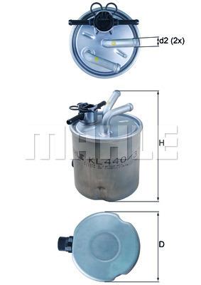 Champion carburant filtre cff100498 pour NISSAN