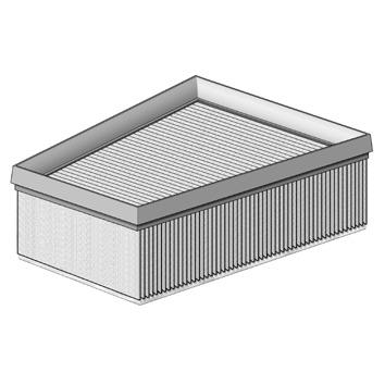 1 Luftfilter PURFLUX A1314 für RENAULT ROVER//AUSTIN