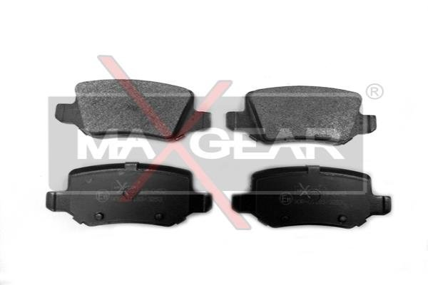 Brembo P50058 Rear Disc Brake Pad Set of 4