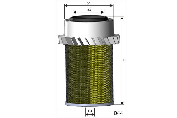 Mann Filter C18436 Luftfilter