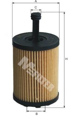 Oil Filter BFO4001 Borg /& Beck 68001297AA K68001297AA 1118184 1250679 MN980125