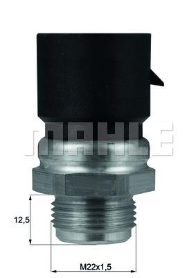 Bilde av Temperaturbryter, Radiator Ventilator Behr Tsw 38d