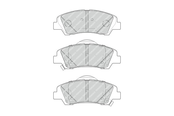 Brake Pads Set Front ADG042158 Blue Print 58101B9A30 58101B9A70 Quality New