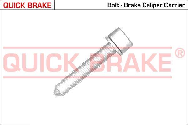 Bilde av Bolt, Bremsecaliper Quick Brake 11612