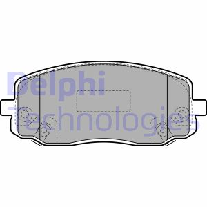 PA1577 Brake Pad Set disc brake Front Axle
