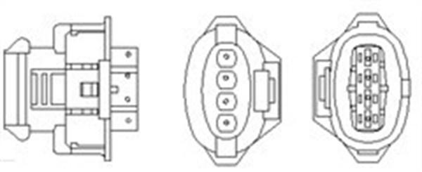 Magneti Marelli sonda lambda 466016355124 para Opel