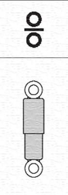 Magneti Marelli 1868G Rear Gas Shock Absorber