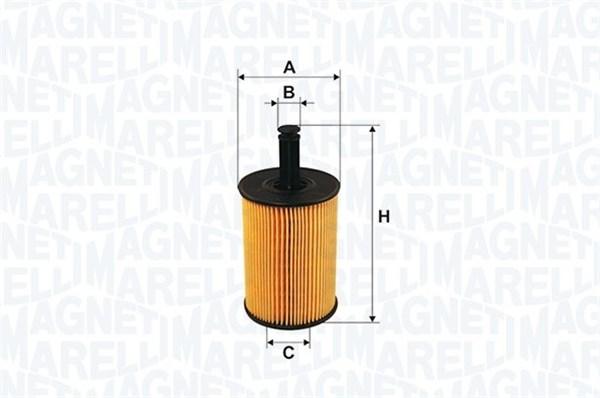 Magneti Marelli 71758800 filtro de aceite