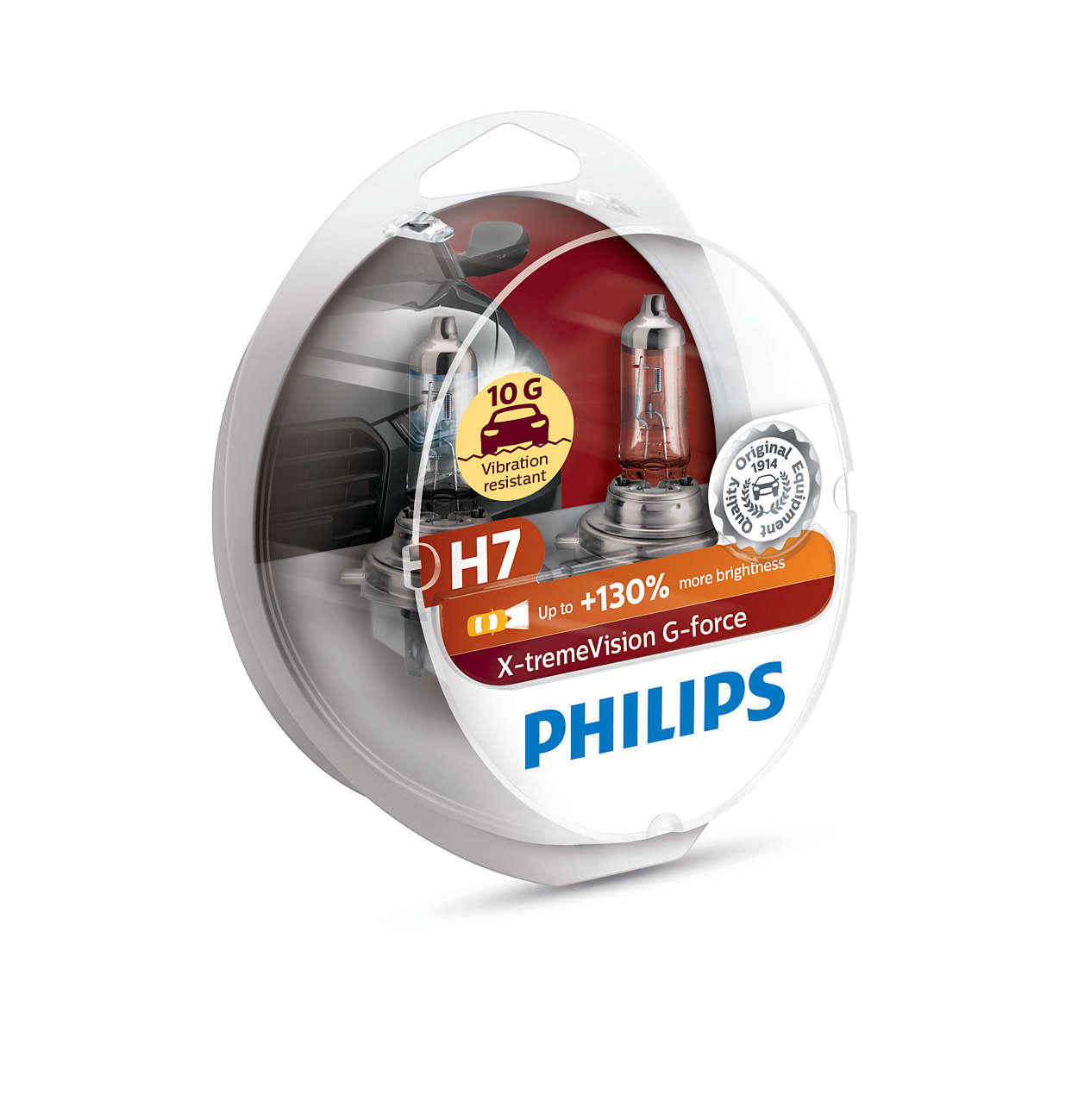 lampe 12 volte h7 philips g force