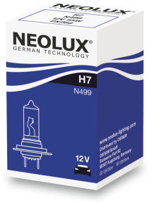 Halogēnspuldze NEOLUX STANDARD 12V H7 55W