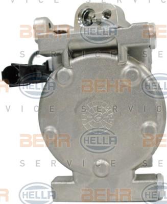 8FK 351 340-151 HELLA Compresor De Aire Acondicionado