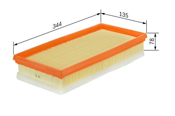 Bosch F 026 400 157 Filtre Air