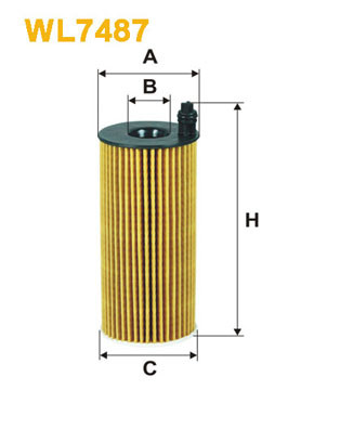 Oil Filter WIX FILTERS WL7487