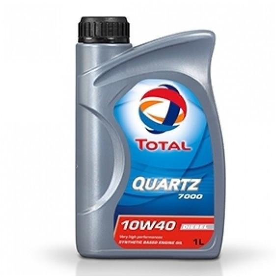 Huile Moteur Total 10w40 Quartz 7000 Diesel 1l