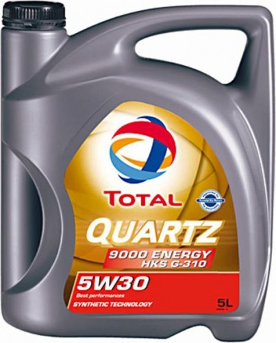 Engine Oil TOTAL QUARTZ 9000 ENERGY HKS 5W30 5L