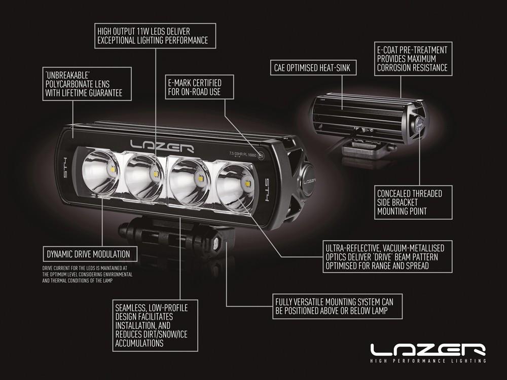 best service f7fa8 391d5 LED bar LAZER ST2 EVOLUTION