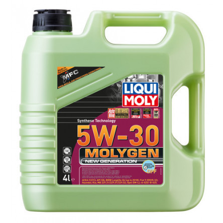 Engine Oil LIQUI MOLY MOLYGEN NEW GENERATION 5W30 4L