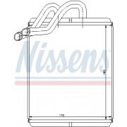 interior heating Van Wezel 83006170/Heat Exchanger