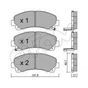 H+B JAKOPARTS J3923081 Bremskraftverst/ärker