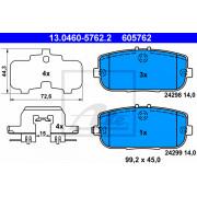 set of 4 Ferodo FDB1894 Brake Pad Set disc brake