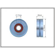 Gates T38415 rodillos tensores para correa de transmisi/ón trapezoidal