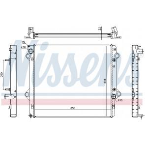 engine cooling Nissens 646804 Radiator