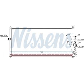 air conditioning NISSENS 94521 Condenser