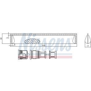 Nissens 95351 Sistemas de Aire Acondicionado