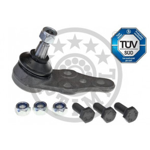 pack of one febi bilstein 02620 Ball Joint with additional parts