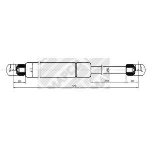 LESJ/ÖFORS 8126130 Gas Spring Boot