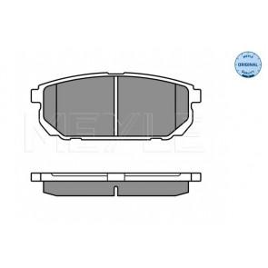 NEW MINTEX REAR DISC BRAKE PADS SET MDB2590