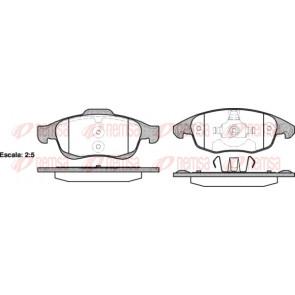 Febi-Bilstein 16713 Kit de plaquettes de frein frein /à disque